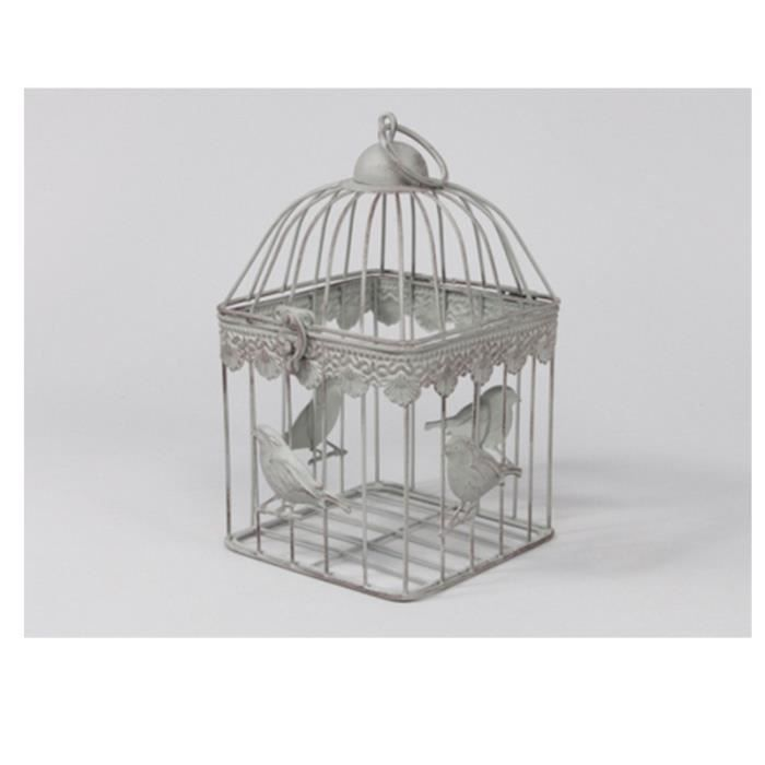 cage a oiseaux decorative achat vente cage a oiseaux decorative pas cher cdiscount. Black Bedroom Furniture Sets. Home Design Ideas