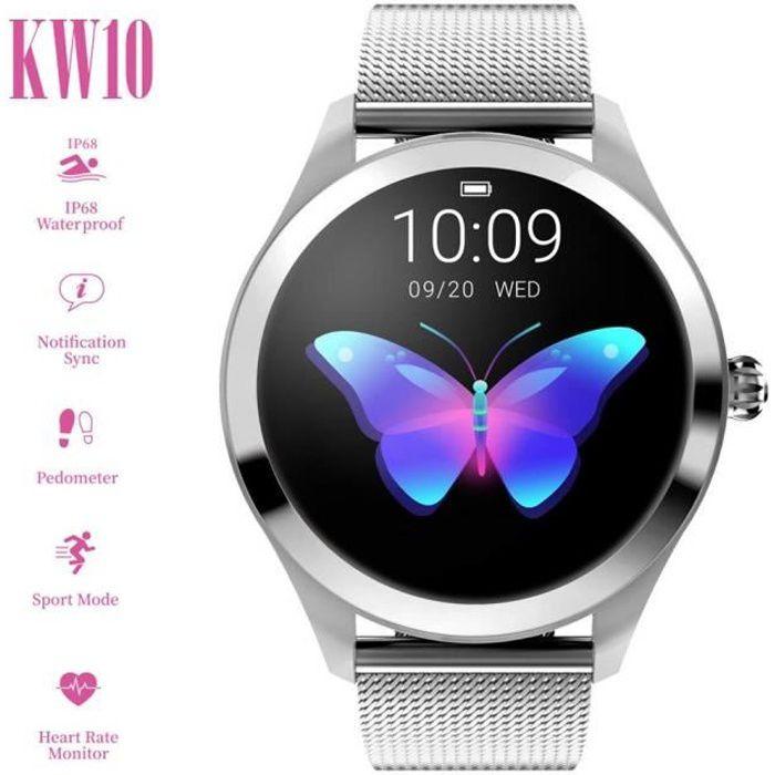 MONTRE CONNECTÉE Smart Watch pour Femme,  IP68 étanche Sport Montre