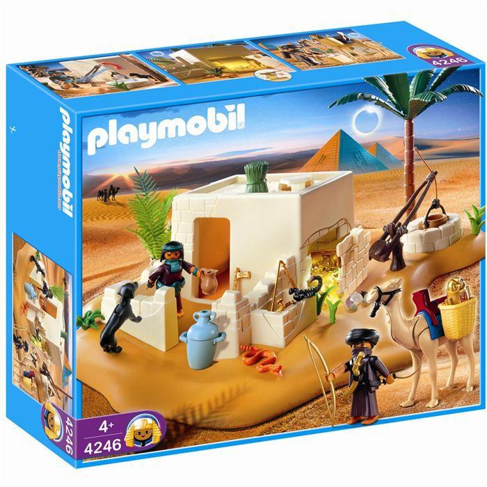 UNIVERS MINIATURE Playmobil Pilleurs et cachette