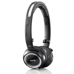 AKG K451BLK Casque audio pliable noir haute performance