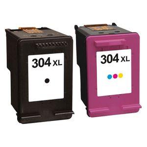 IMPRIMANTE Pack 2 cartouches d'encre N° 304 XL Noir et Couleu