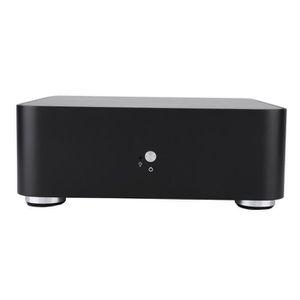 BOITIER PC  Boîtier d'ordinateur Mini ITX Boîtier en alliage d