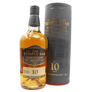 WHISKY BOURBON SCOTCH Whiskey The Temple Bar 10 ans