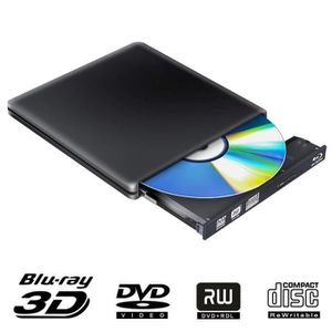 LECTEUR - GRAVEUR EXT. USB 3.0 Graveur Lecteur DVD Externe Blu Ray 4K 3D,