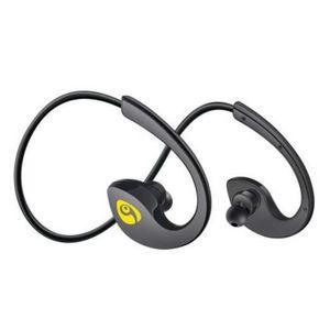 CASQUE - ÉCOUTEURS Noir OVLENG Bluetooth écouteur casque sans fil cas