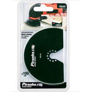 ACCESSOIRE MACHINE BLACK & DECKER PIRANHA 100mm HSS X26120 PONCEUSE A
