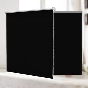 STORE DE FENÊTRE Store Enrouleur Occultant Thermique 95x150 cm Noir