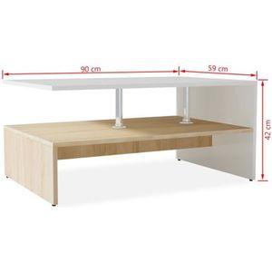 TABLE BASSE Homgeek Table Basse de Salon | Table Basse Relevab