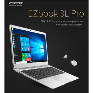Top achat PC Portable JUMPER EZbook 3L Pro Ordinateur Portable Ultrabook Laptop, 6GO+128GO, 14.1 Pouces écran FHD - Windows 10 Intel Apollo Lake N3450 Qua pas cher