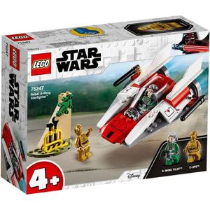 ASSEMBLAGE CONSTRUCTION LEGO® 4+ Star Wars™ 75247 Chasseur stellaire rebel