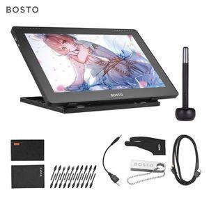 TABLETTE GRAPHIQUE BOSTO 16HDK Portable LCD graphique H-IPS de 15,6 p
