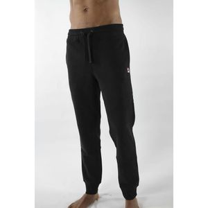 PANTALON DE SPORT Pantalon de training Fila en molleton noir.