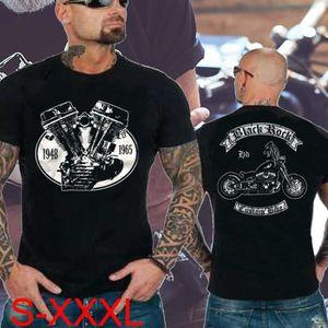 T-SHIRT T-shirt Biker T-shirts Motorrad Chopper T-shirts d