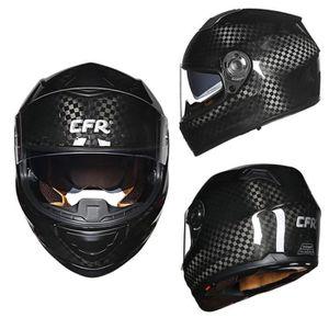 CASQUE MOTO SCOOTER 12K fibre de carbone casque moto casque intégral c