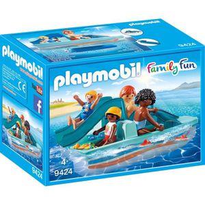 UNIVERS MINIATURE PLAYMOBIL 9424 - Family Fun - Pédalo