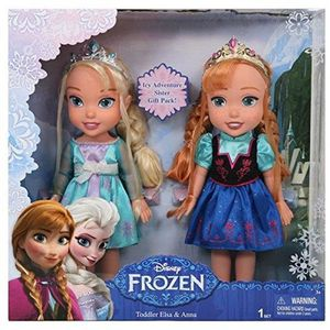 POUPÉE coffret 2 poupées La Reine des Neiges 33cm