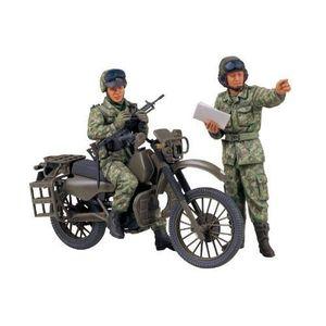 VOITURE À CONSTRUIRE TAMIYA - 35245 - MAQUETTES - MOTO JGSDF - MILIT…
