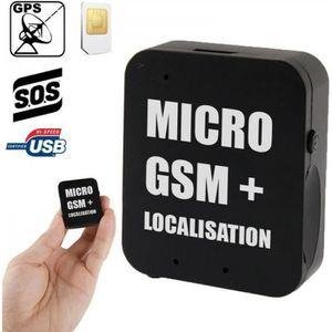 Système d'écoute Micro espion GSM détection sonore, rappel auto