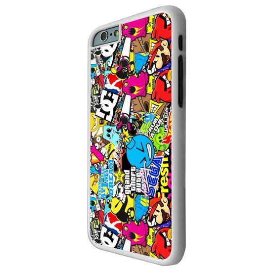 stickers coque iphone 6