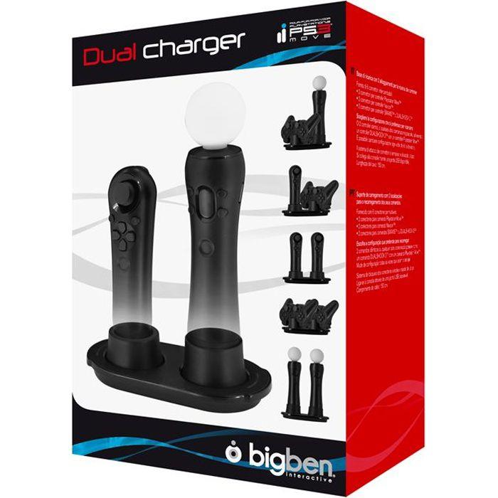 DUAL CHARGER BIG BEN / Accessoire console PS3