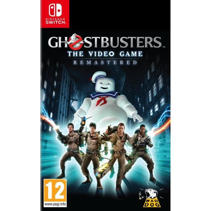 Ghostbusters Remasterised Jeu Switch