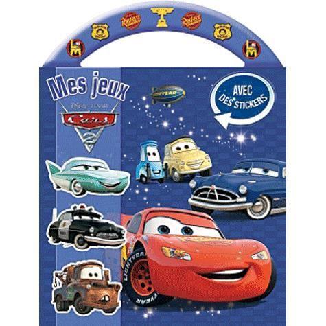 mes jeux cars 2 achat vente livre disney hachette jeunesse parution 18 07 2012 pas cher. Black Bedroom Furniture Sets. Home Design Ideas