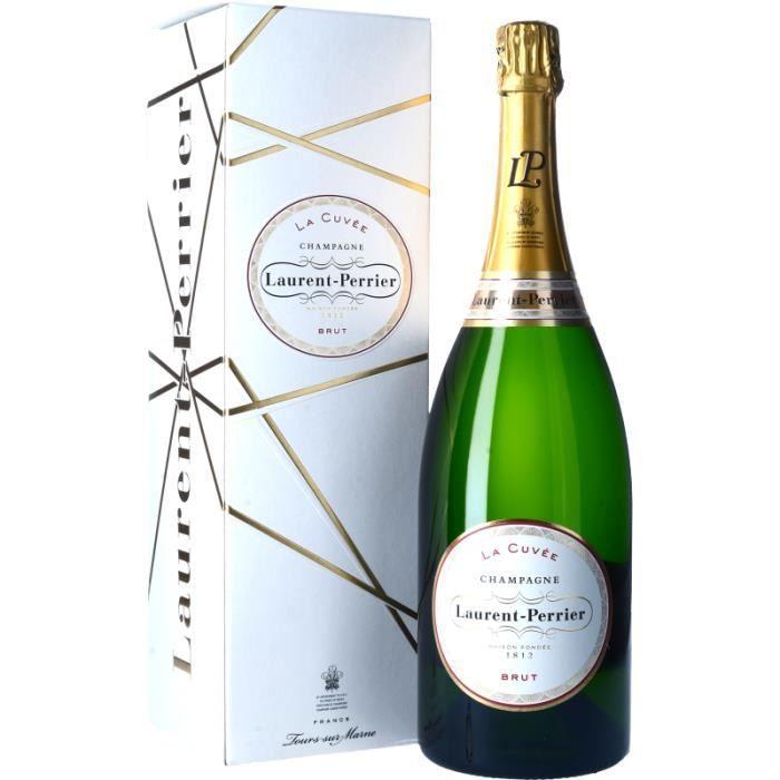 Champagne et Méthode Traditionnelle - Champagne Laurent-Perrier La Cuvée Brut - Magnum 150cl 4>Effervescent