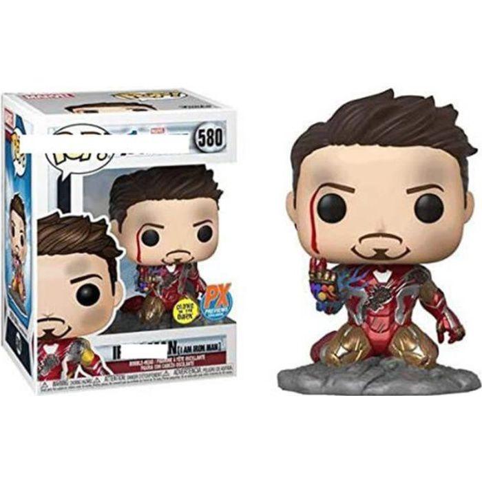 FIGURINE DE JEU - Figurine Funko Pop! - The Avengers:Iron Man Tony Stark - cadeau jouet SJZ™
