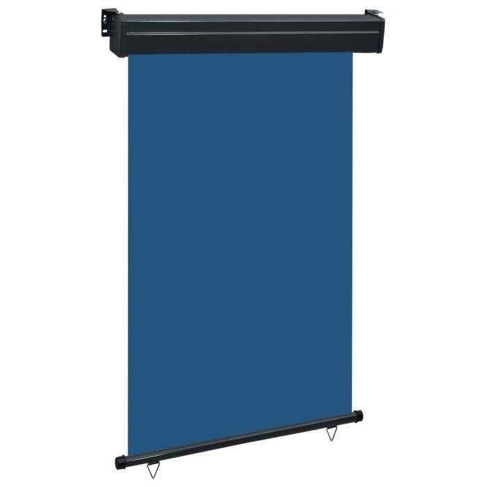Auvent Latéral - Auvent de Jardin - Store Latéral - écran d'extérieur de balcon 120x250 cm Bleu