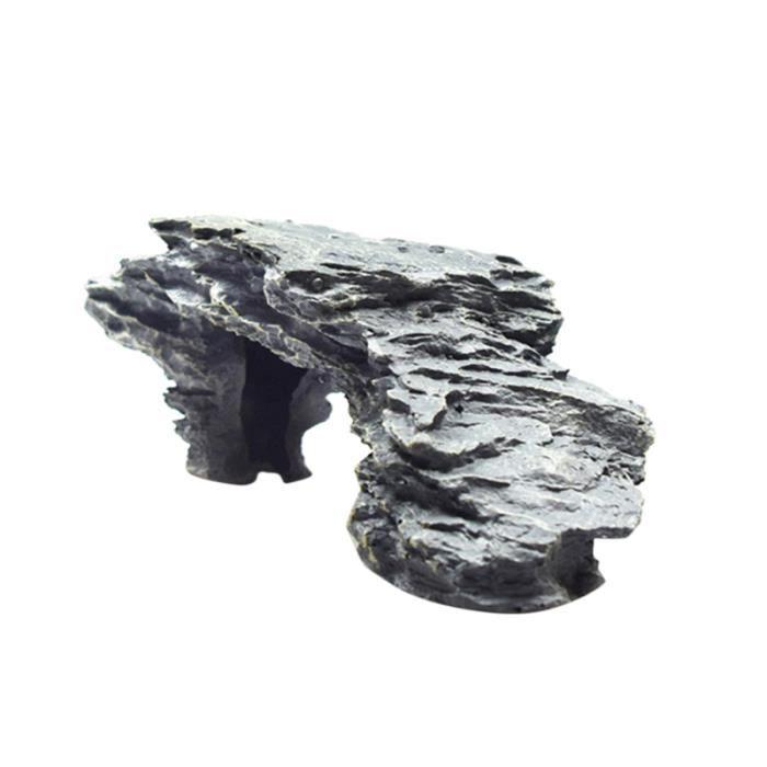 1 pc plate-forme réservoir de tortue paysage pratique ornement résine ANTI-FUGUE COLLAR - ANTI-FUGUE FENCE - ANTI-FUGUE PACK