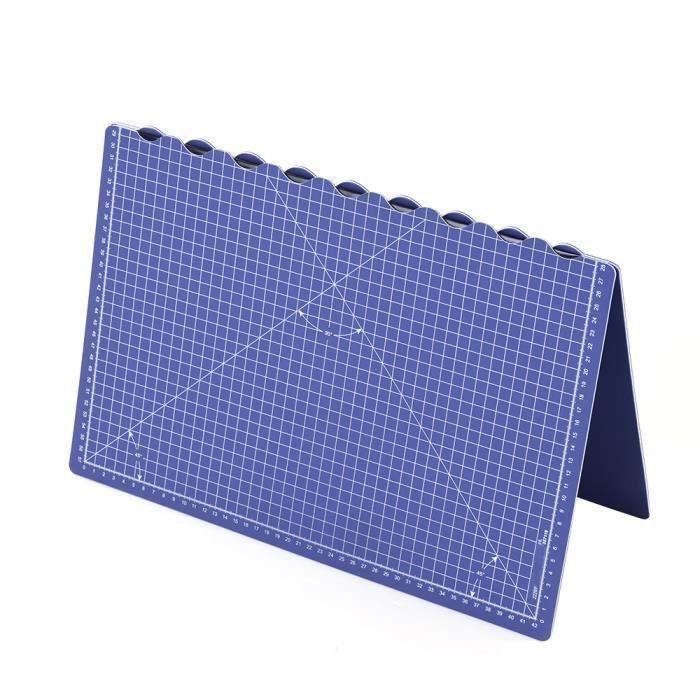 Docooler Tapis de coupe Tapis de coupe rotatif auto-cicatrisant pour tapis de coupe