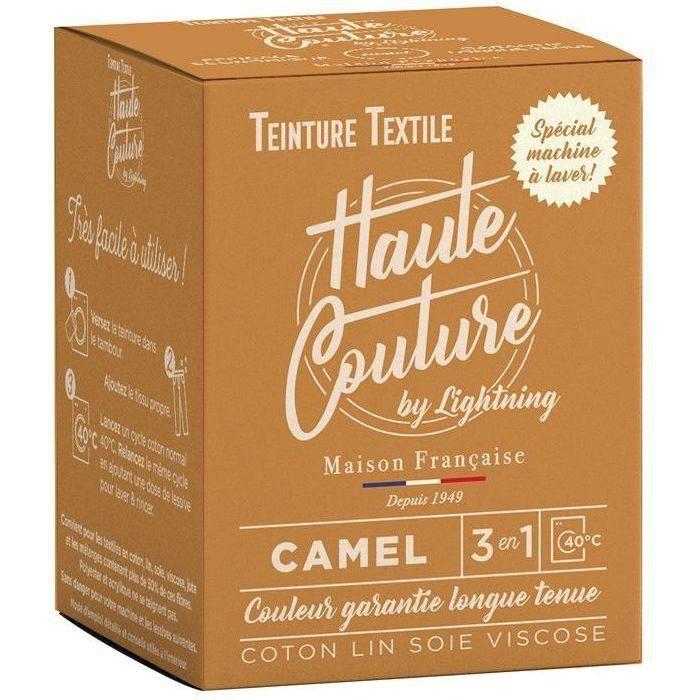 Teinture textile haute couture camel 350g
