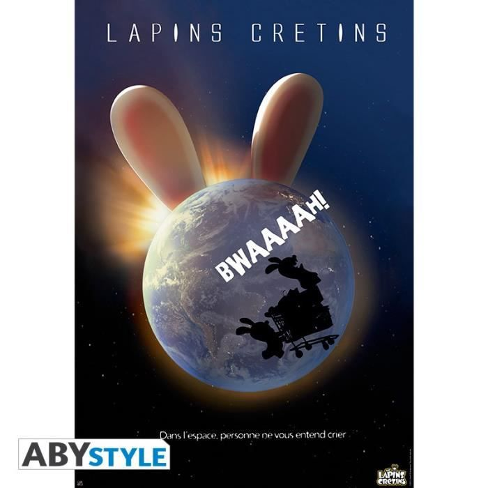 ABYSTYLE Poster Lapins crétins \