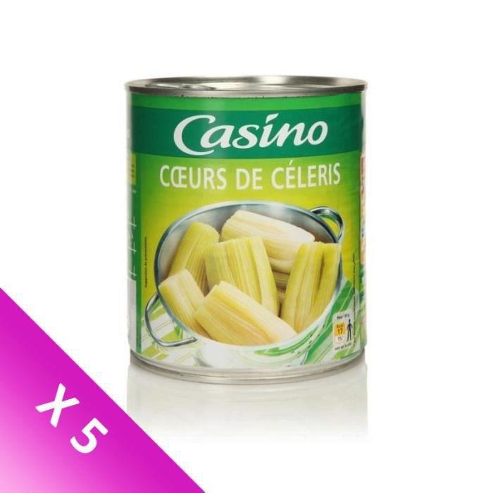[LOT DE 5] GENERALE DE CONSERVE (COMPAGNIE) Coeur céleri - 530 g