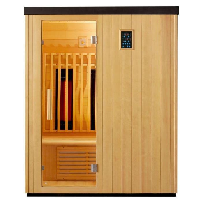 Sauna infrarouge SNO chez CDiscount