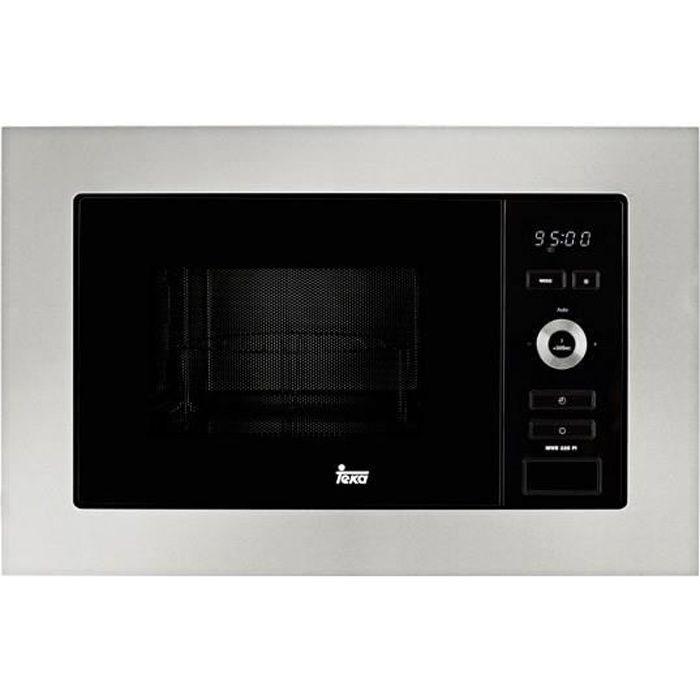 Micro-ondes intégrable Teka MWE225FI 20 L 800W Noir Acier inoxydabl
