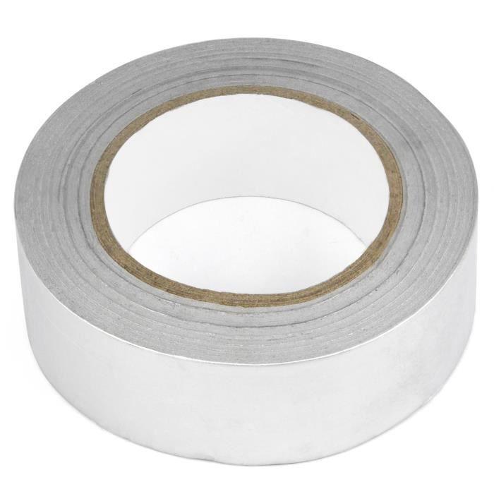 40mm X 50m Aluminium Foil ruban isolant adhésif réfléchissant la chaleur