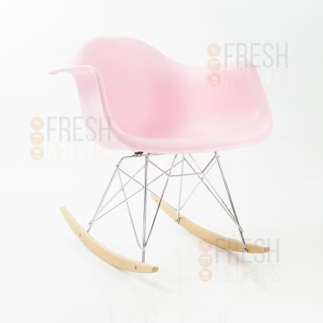 Fauteuil bascule inspiration eames rar rocking chair for Fauteuil eames rose