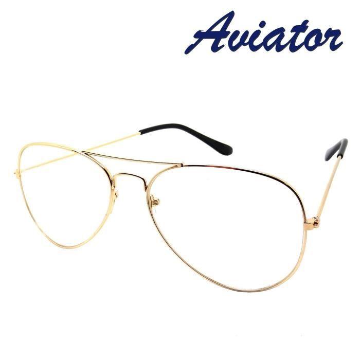 lunettes de vue aviateur femme ray ban