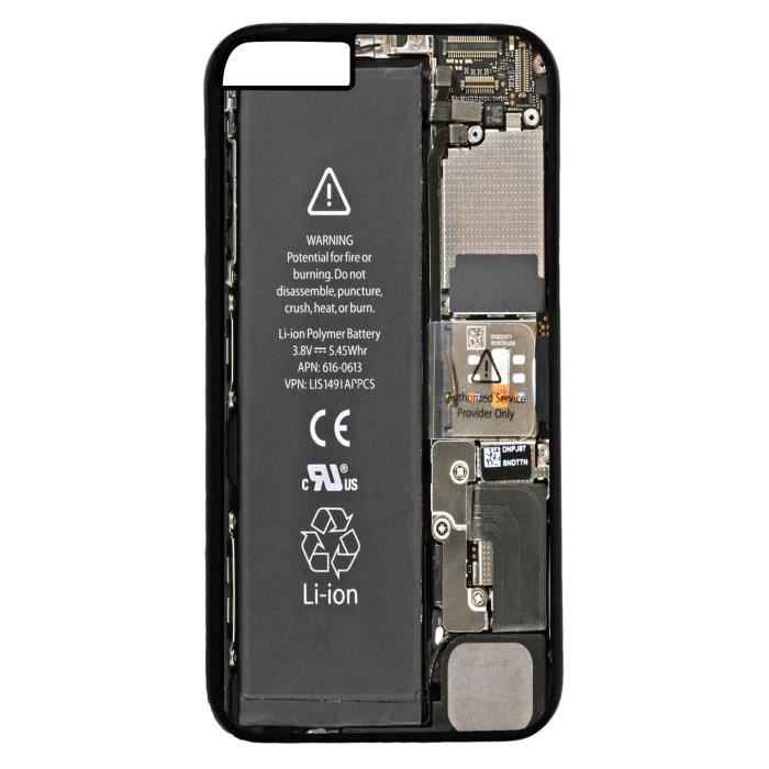 coque iphone 6 plus interieur smartphone casse batterie