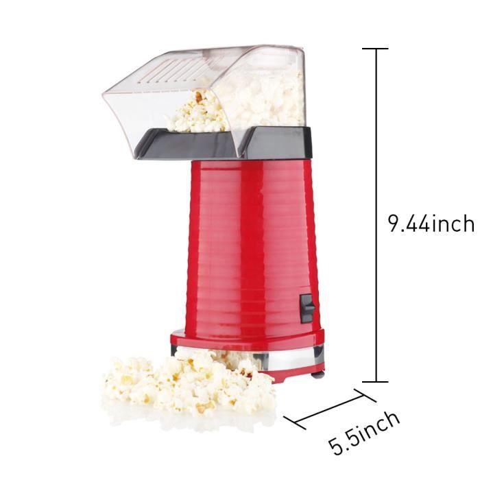 MACHINE À POP-CORN ÉLEC 220V 1100W Mini Machine à pop-corn, Pop-corn machi