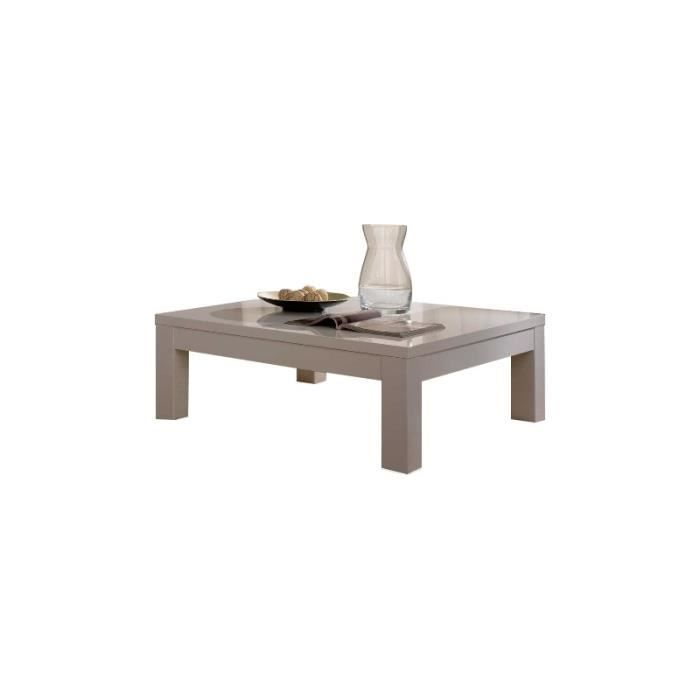 table basse carre roma laqu blanc achat vente table basse table basse carre roma laqu. Black Bedroom Furniture Sets. Home Design Ideas