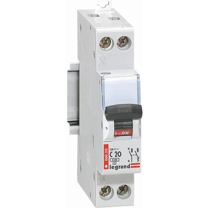 DISJONCTEUR LEGRAND Disjoncteur DNX 4500 - 20A - 230V
