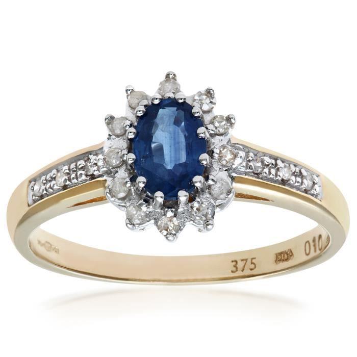 bague diamant tanzanite
