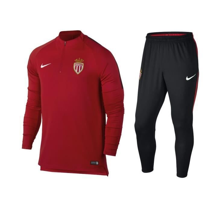 ensemble de foot AS Monaco noir