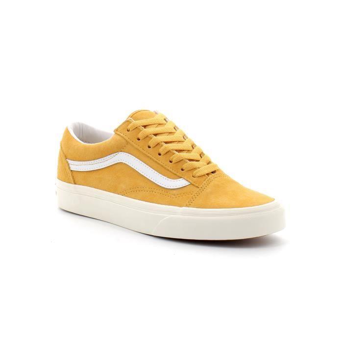 Soldes > vans old skool jaune et noir > en stock