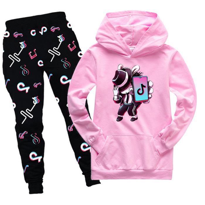 pantalon cadeau d/'anniversaire FASHION KIDS Vêtements Tik Tok Imprimé Sweatshirts et Hoodies Tops
