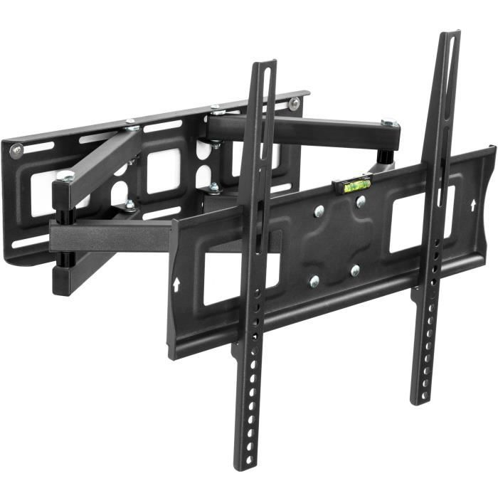 Support tv mural orientable et inclinable 26 55 fixation support tv avis et prix pas cher - Support tv mural orientable ...