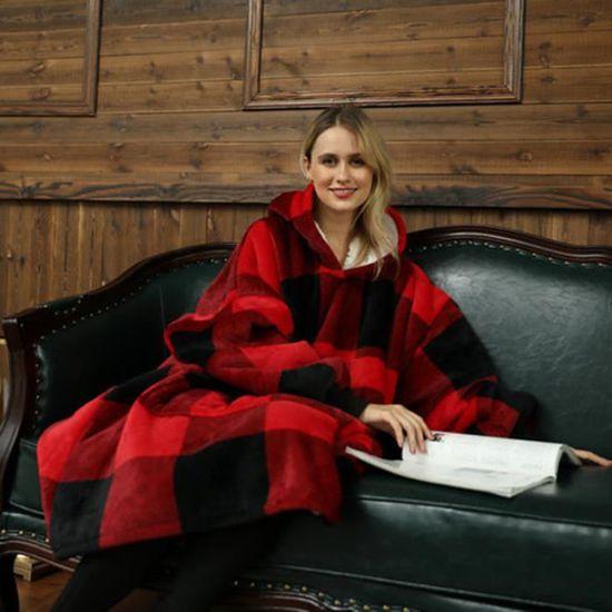 Oodie oversize à capuche Couverture Sweat-shirt-Lounge Wear