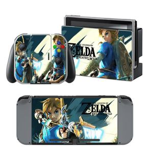 STICKER - SKIN CONSOLE Zelda Breath of Wild Anime Autocollants de Skins d